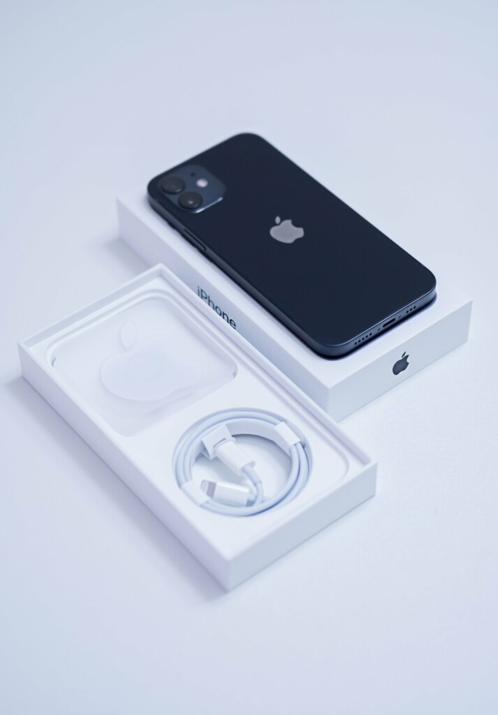 Iphone12 with box